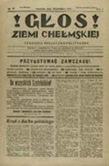 Głos Ziemi Chełmskiej : tygodnik społeczno-polityczny / [red. odp. i wyd. Aleksander Kazimierz Modrowski]