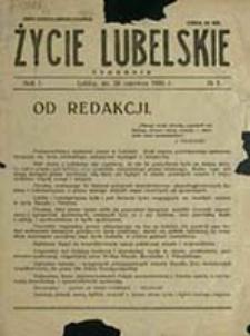 Życie Lubelskie, tygodnik (1935-36)