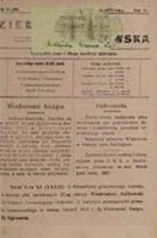 Ziemia Tomaszowska : wychodzi 5-go i 20-go każdego miesiąca / [Sejmik Powiatowy w Tomaszowie Lubelskim, przewodniczący kom. red. Ludwik Kobierzycki, red. odp. Benedykt Zwierzchowski]