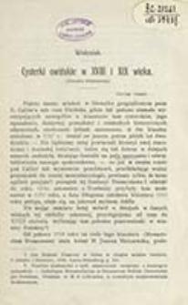 Cysterki owińskie w XVIII i XIX wieku : (notatka historyczna) / Wołyniak