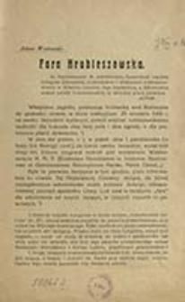 Fara hrubieszowska / Antoni Wiatrowski