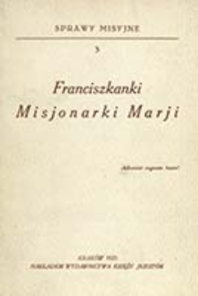 Franciszkanki Misjonarki Maryi